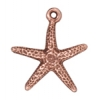 Charm Starfish Antique Copper